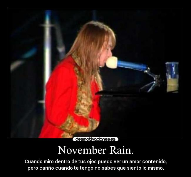 November Rain Guns and Roses Memes