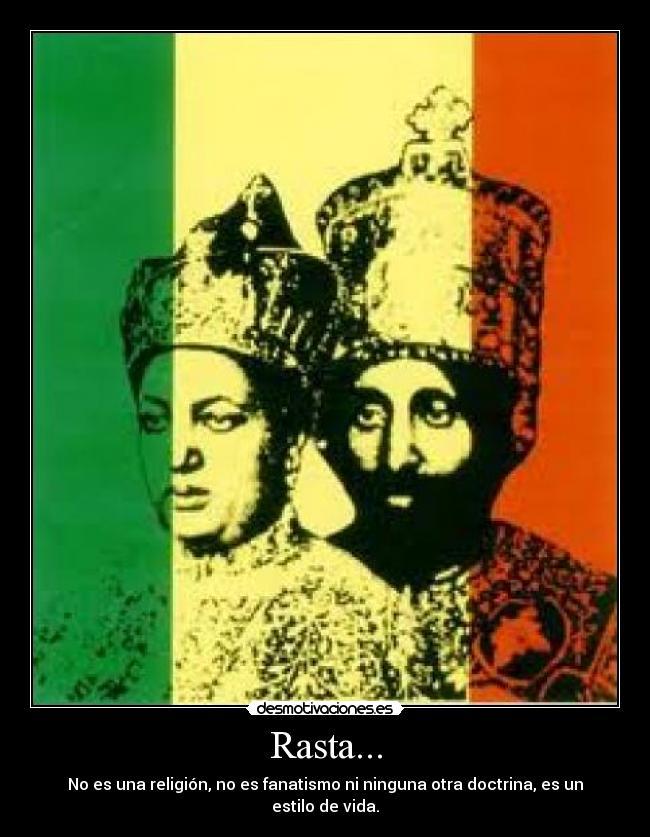 Carteles Y Desmotivaciones De Rastafari