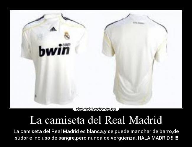 3e64d8a8c1cba La camiseta del Real Madrid