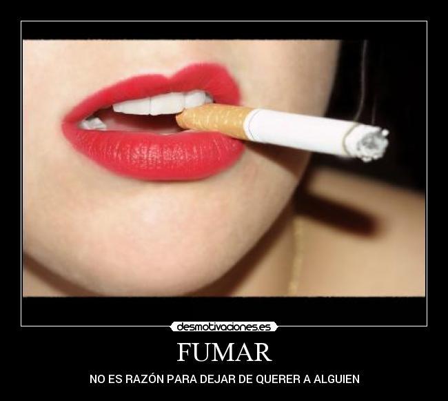 Fumar no slo es malo para ti, tambin lo es para tus