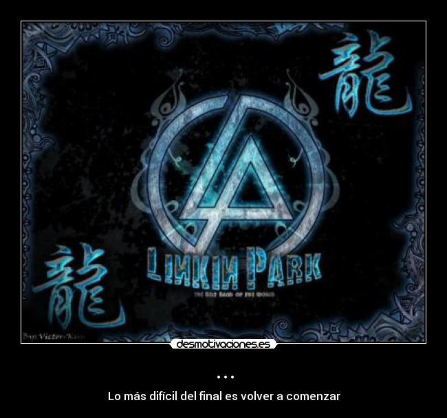 carteles encanta logo waiting for the end linkin park desmotivaciones