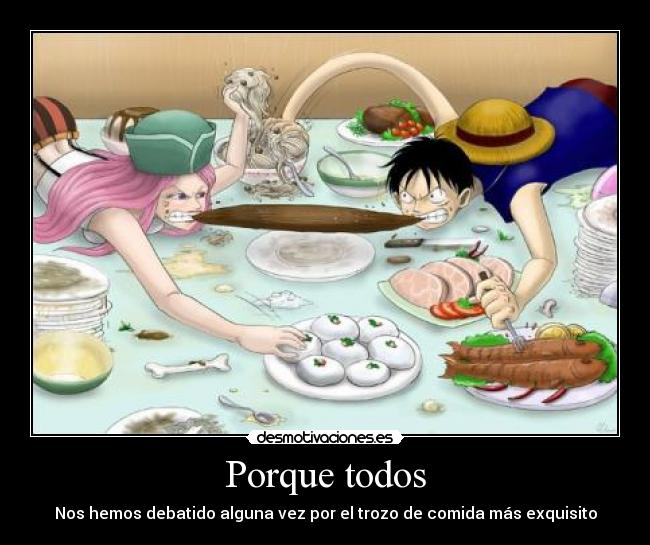 carteles one piece luffy kroketking desmotivaciones