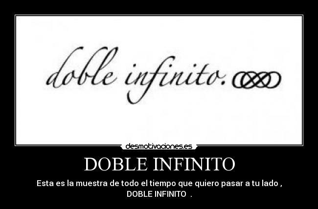 Tatuaje Doble Infinito Revenge doble infinito   desmotivaciones