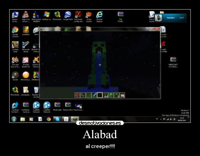 Alabad - al creeper!!!!