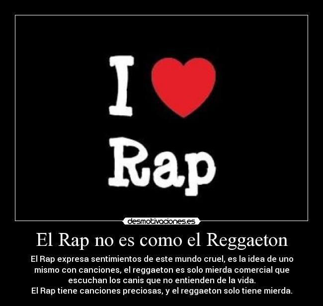 Carteles Rap Reggaeton Musica Desmotivaciones