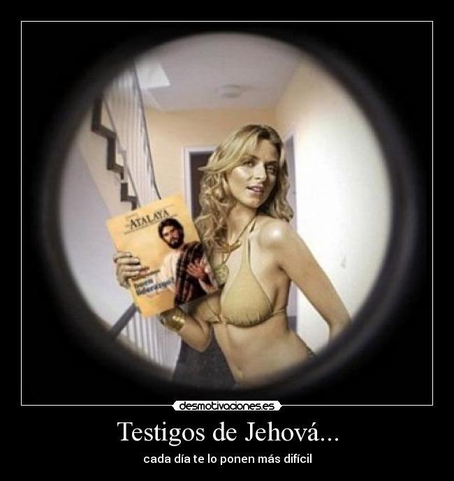 carteles testigos jehova reclutar abrir puerta desmotivaciones