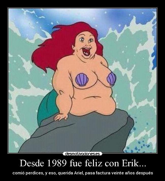 Sexo con Ariel, La Sirenita Comic Porno