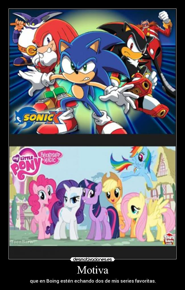 My Little Pony and Sonic X