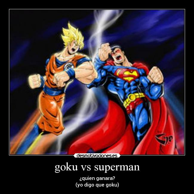 Related Pictures goku vs superman anime vice