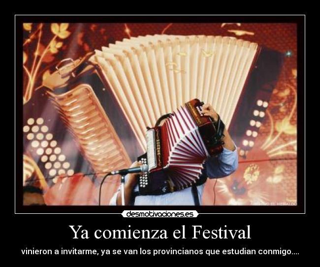 carteles festival vallenato desmotivaciones