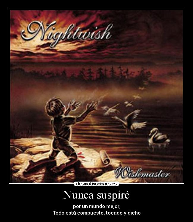 carteles nightwish dead boys poem desmotivaciones
