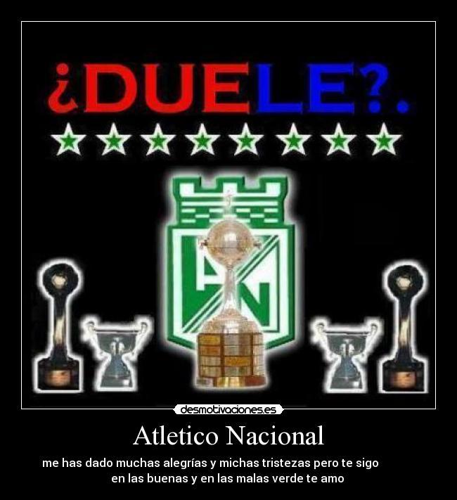 carteles atletico nacional desmotivaciones