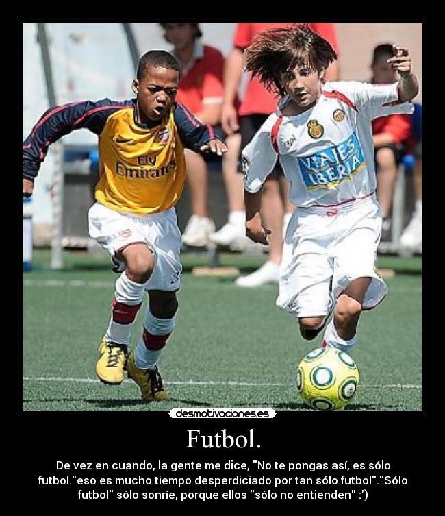 956fb9cfd77df Futbol. - De vez en cuando