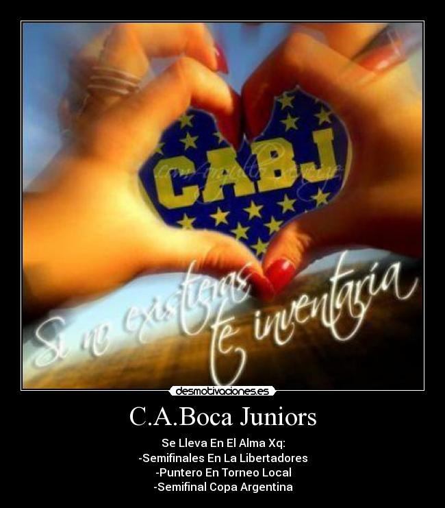 Club Atl  Tico Boca Juniors  Desmotivaciones