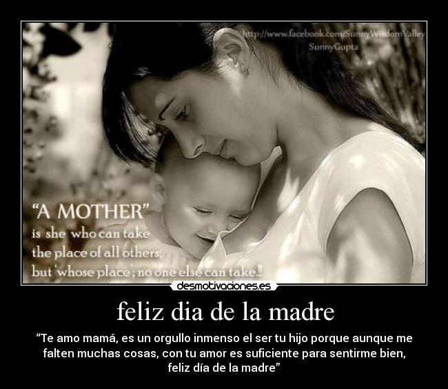 feliz dia de la madre | Desmotivaciones