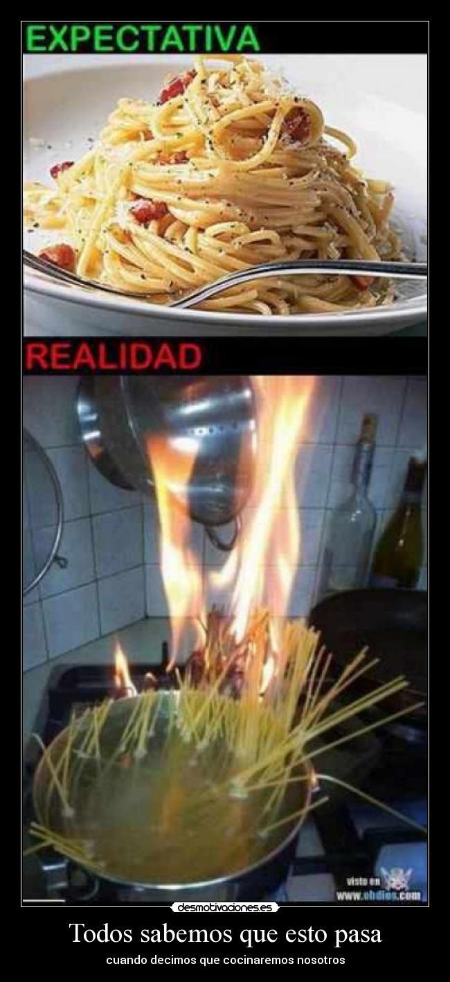 Cocinas quemadas