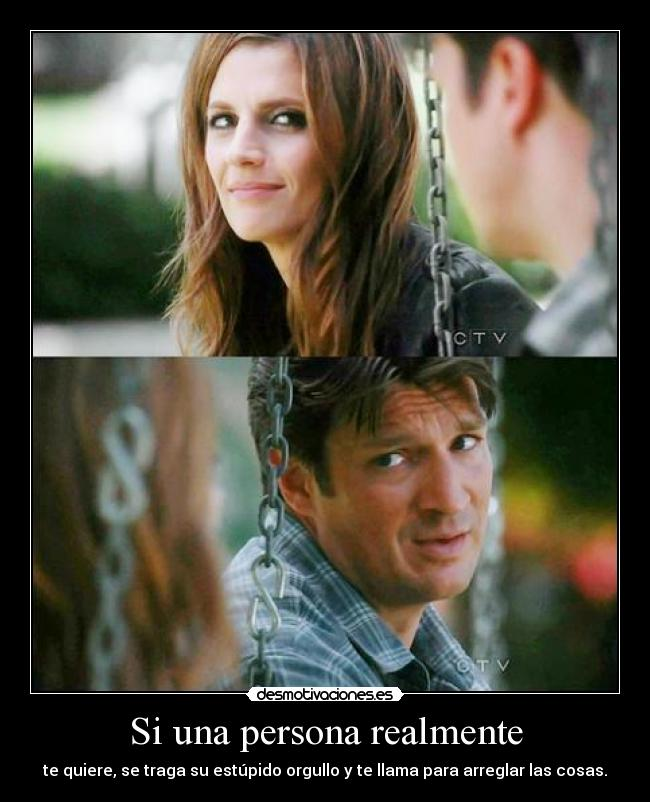 carteles vueltas desmotivaciones skyscraper julio kate beckett and richard castle desmotivaciones