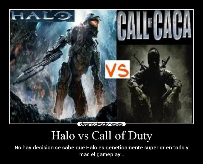 Halo vs Call of Duty -