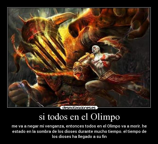 Usuario ai lacrimae desmotivaciones for God of war 3 jardines del olimpo
