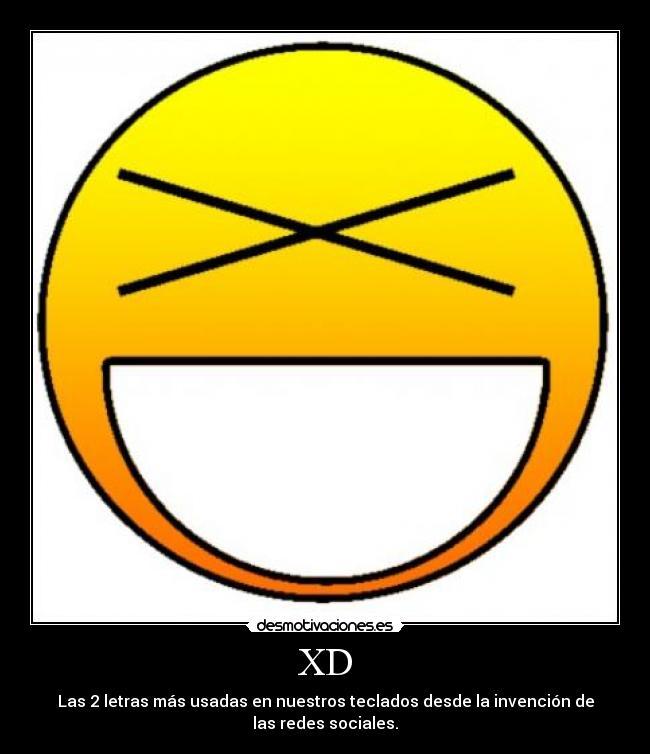 carteles las letras mas usadas los teclados las redes sociales xdddd  desmotivaciones c8b2eafbc4560