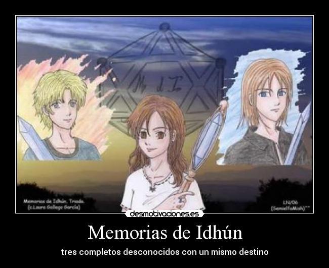 carteles memorias idhun desmotivaciones