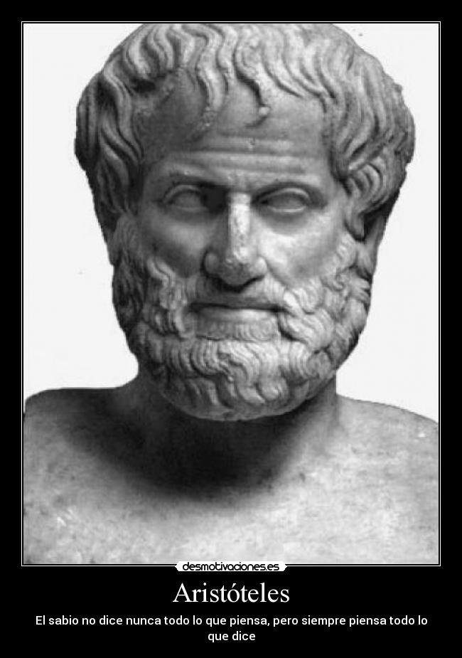 Aristóteles Desmotivaciones