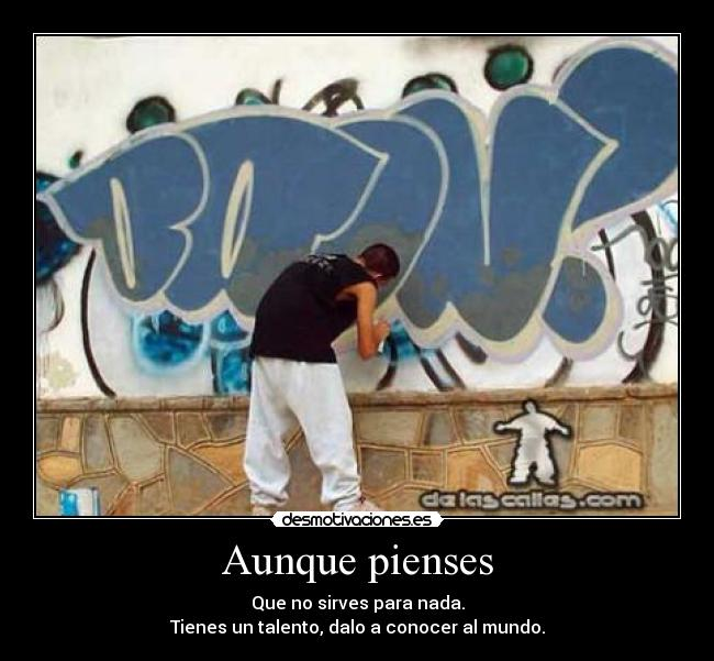frases de grafitis: