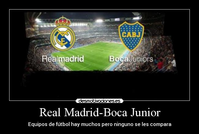 Real Madrid-Boca Junior