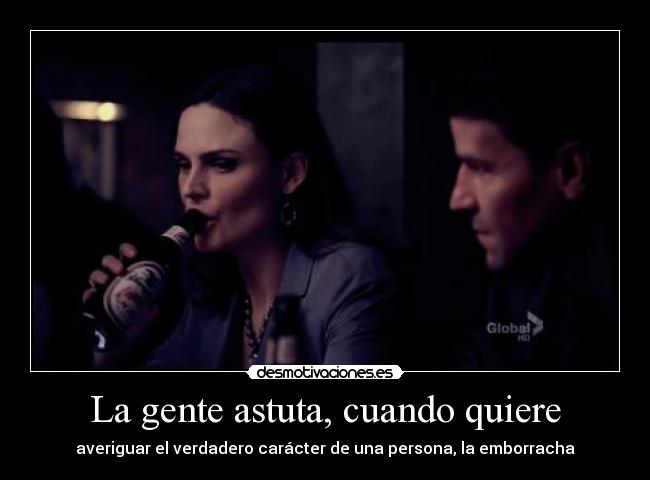 carteles bones temperance brennan temperanse emily deschanel seeley booth david boreanaz gente borracha desmotivaciones
