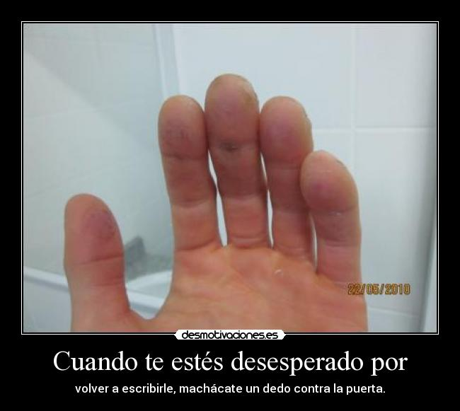 apasionado dedos