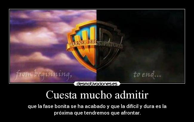carteles warner logo harry potter desmotivaciones