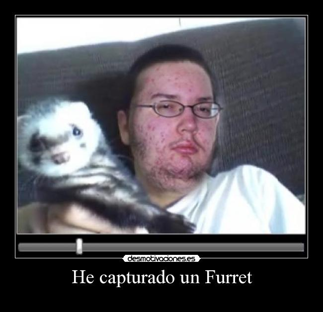 He capturado un Furret -