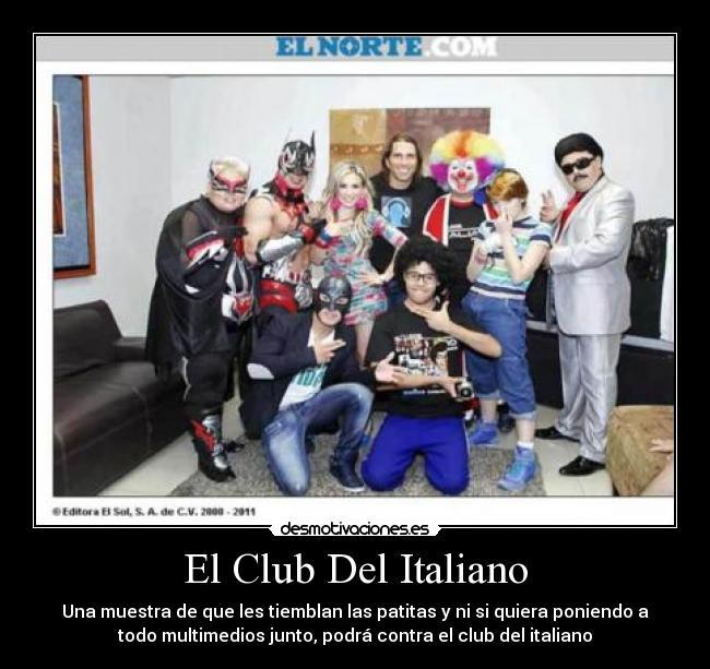club italiano sexo