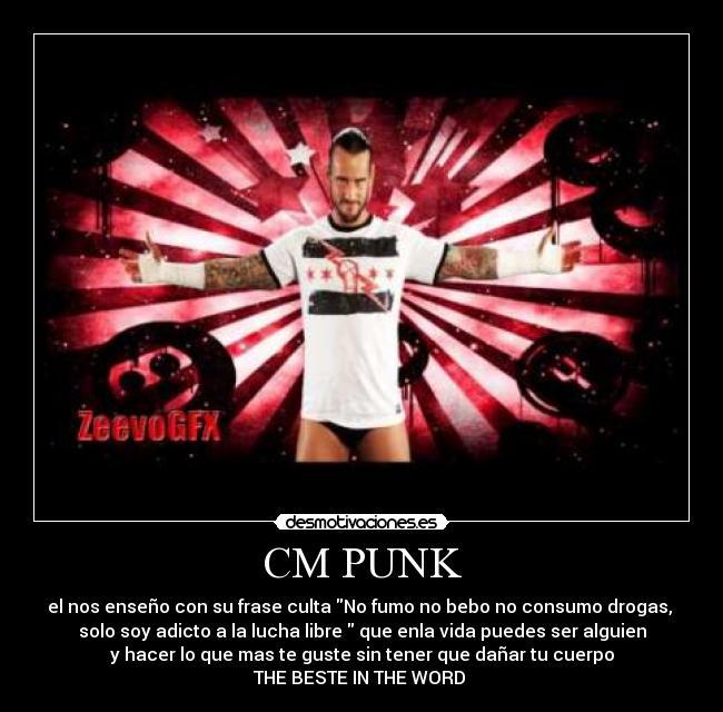 Cm Punk Desmotivaciones