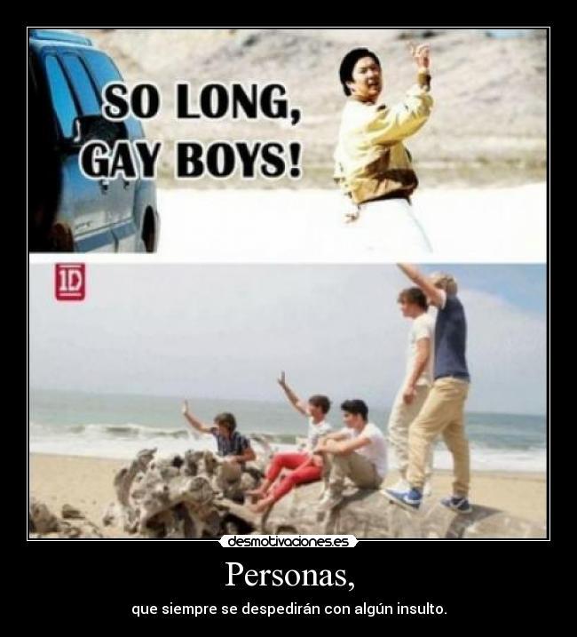 carteles direction son gays esto asi desmotivaciones