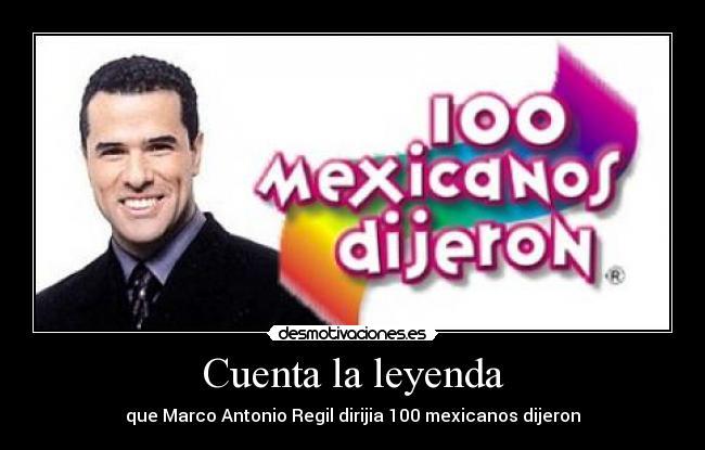 musica de 100 mexicanos dijeron: