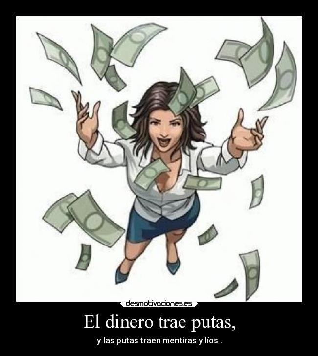 dinero putas drogas en Valladolid