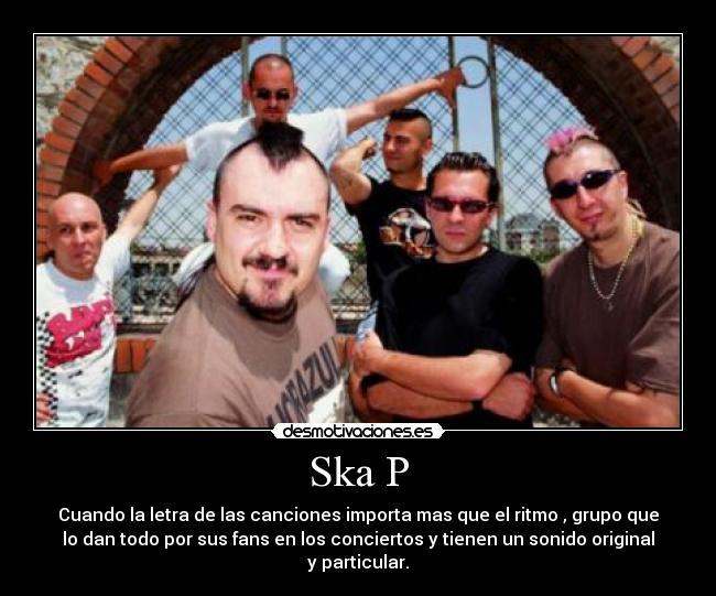 de canciones de ska p para: