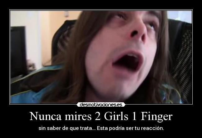 2 girls 1 finger