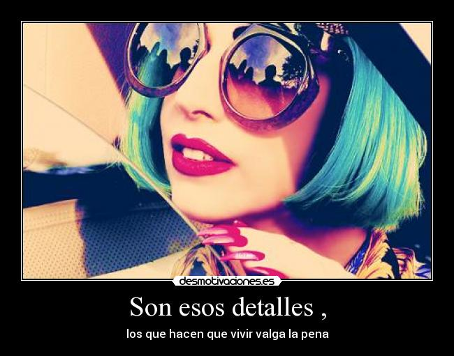 carteles lady gaga blue hair born this way bornthisway dios sheremee desmotivaciones