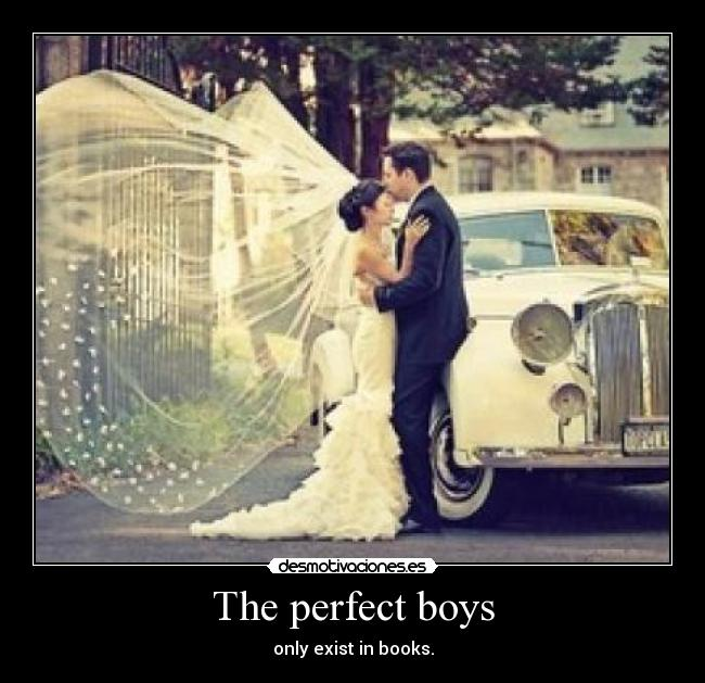 The perfect boys - only exist in books.