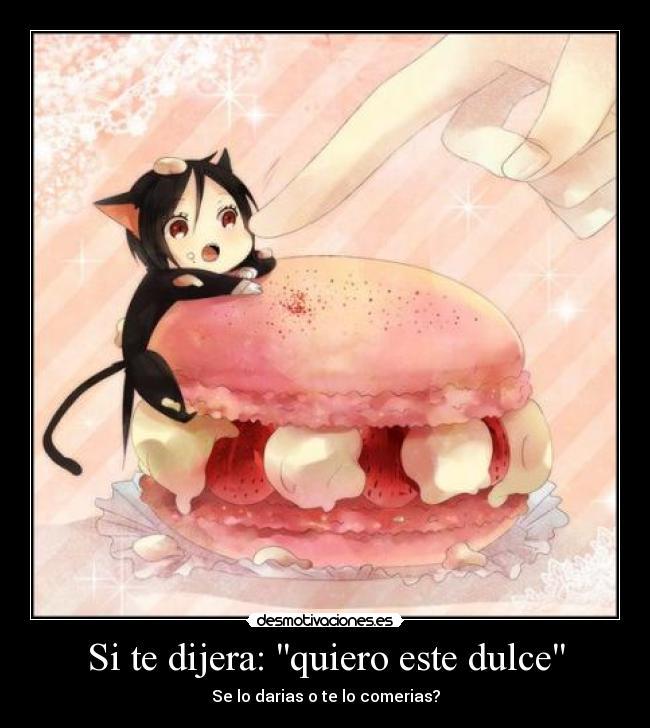 carteles izaya neko dulce anime dedo frutillas gatosenvoltura dedo ...