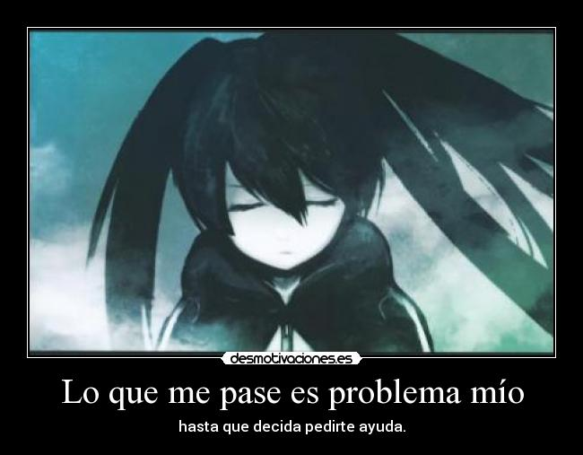 carteles anime manga intruders lol black rock shooter nigatsu harukaze 1kd desmotivaciones