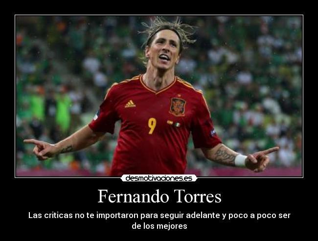 Fernando Torres Desmotivaciones