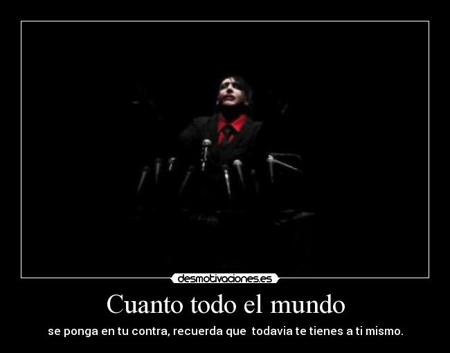 carteles mundo marilyn manson antichrist superstar born villain hey cruel world desmotivaciones