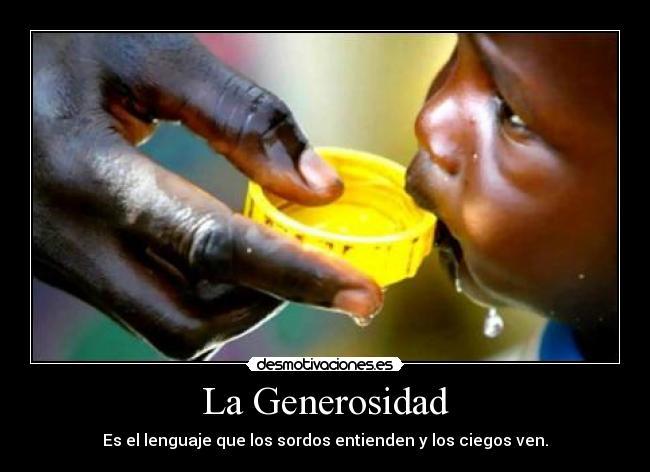 carteles generosidad desmotivaciones