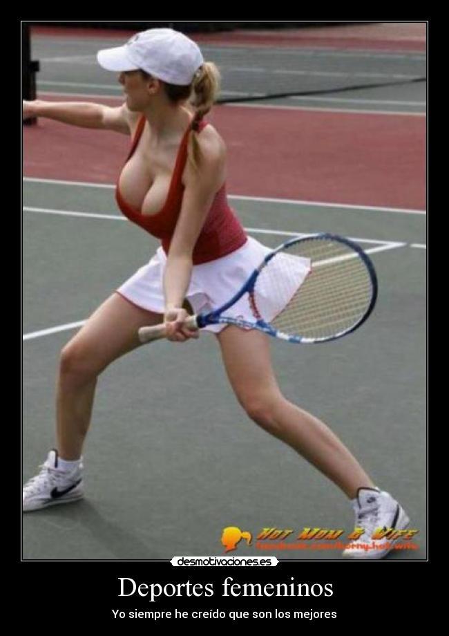 Carteles Deportes Los Deportes Femeninos Son Los Mejores