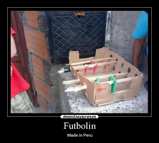 Futbolin - Made in Peru