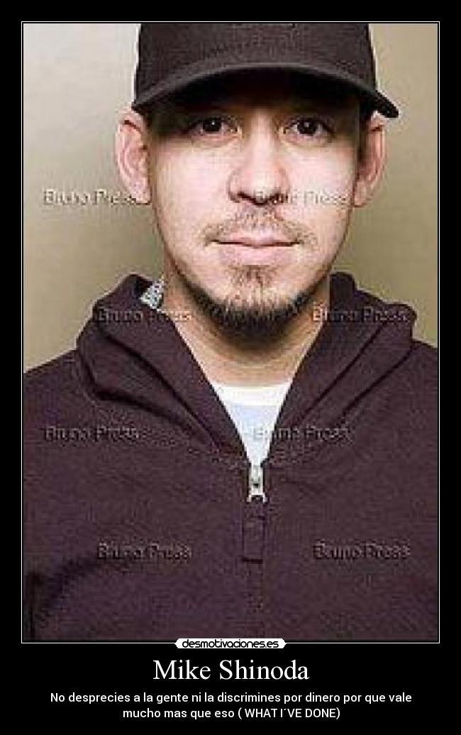 Carteles Mike Shinoda Linkin Park Desmotivaciones