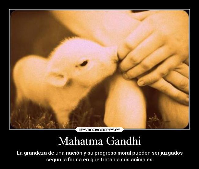 Mahatma Gandhi Desmotivaciones